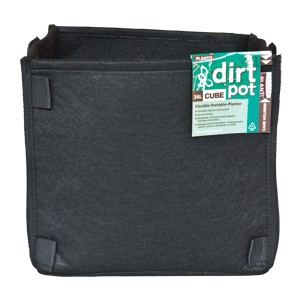 Square Dirt Pot 11L