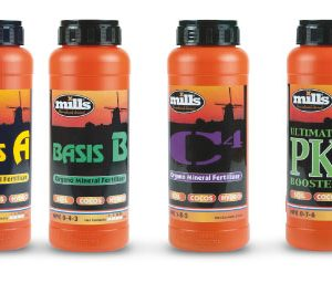 Mills Nutrients Line Up